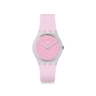 Swatch Armbanduhr - Love is in the Air All Pink