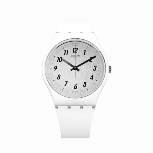Swatch Armbanduhr - Time to Swatch Something White