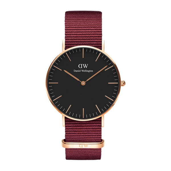 DW - Classic Black Roselyn | 40 mm rosé