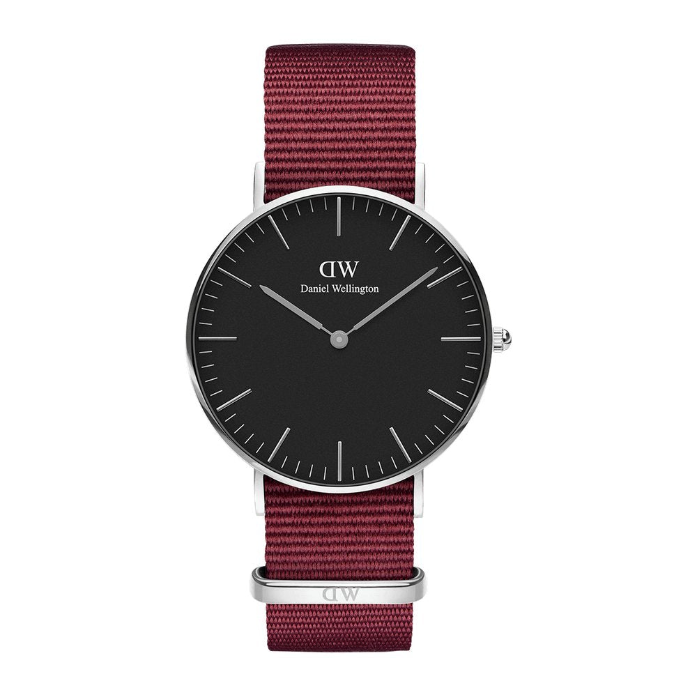 DW - Classic Black Roselyn | 36 mm silber