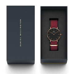 DW - Classic Black Roselyn | 36 mm rosé