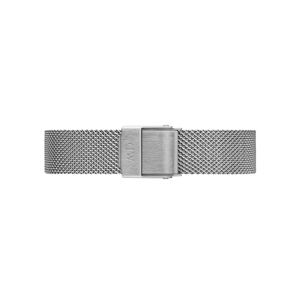 DW Meshband - Classic Petite Sterling | 12mm silber