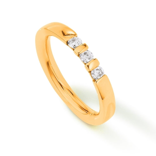 Palido - Memoire Ring Gelbgold 585 0,23 ct