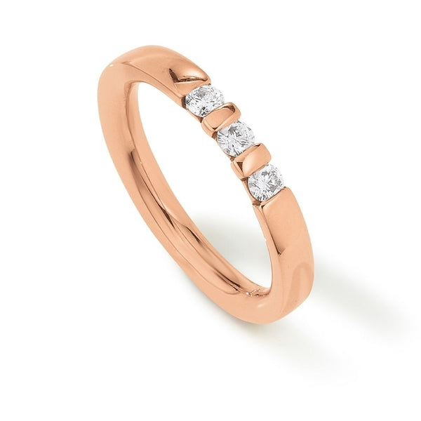 Palido - Memoire Ring Rotgold 585 0,23ct