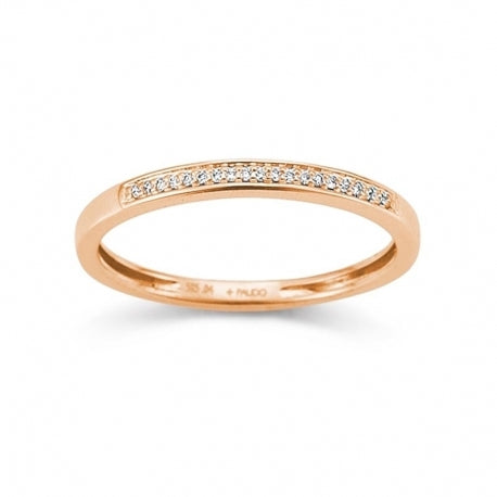 Palido - Memoire Ring  Rotgold 585 0,04ct