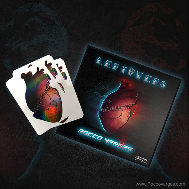 LEFTOVERS SINGLE (SIGNED) w/ Leftovers Heart Sticker