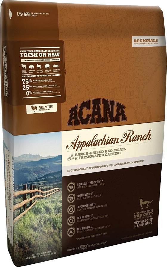 ACANA Regionals Appalachian Ranch Cat and Kitten Grain Free Dry Cat Food