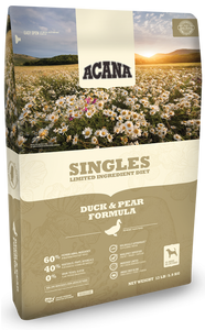 ACANA Singles Limited Ingredient Diet Duck and Pear Formula Grain Free Dry Dog Food