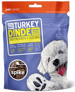 Petcurean Spike Grain Free Turkey Jerky for Dogs