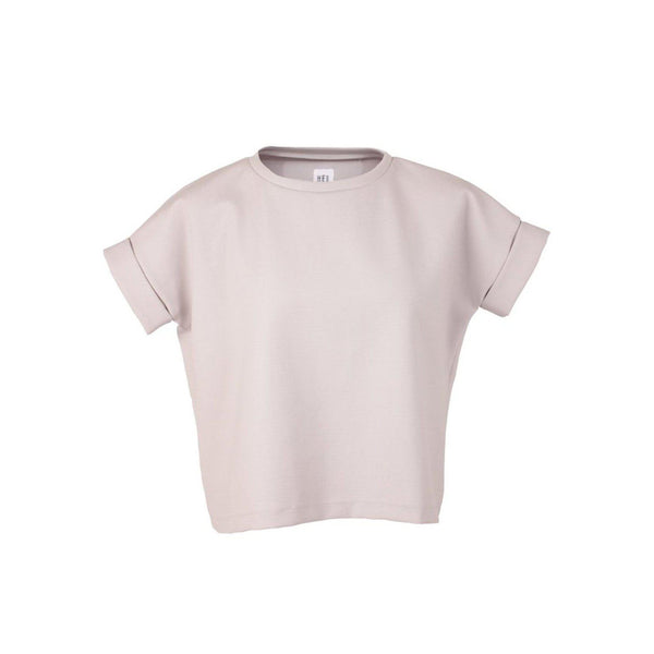 HEL Boxy-Fit Shirt in grau mit Elasthan