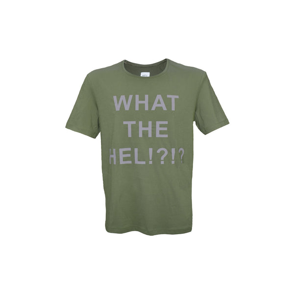 WHAT THE HEL Unisex T-Shirt in Grün