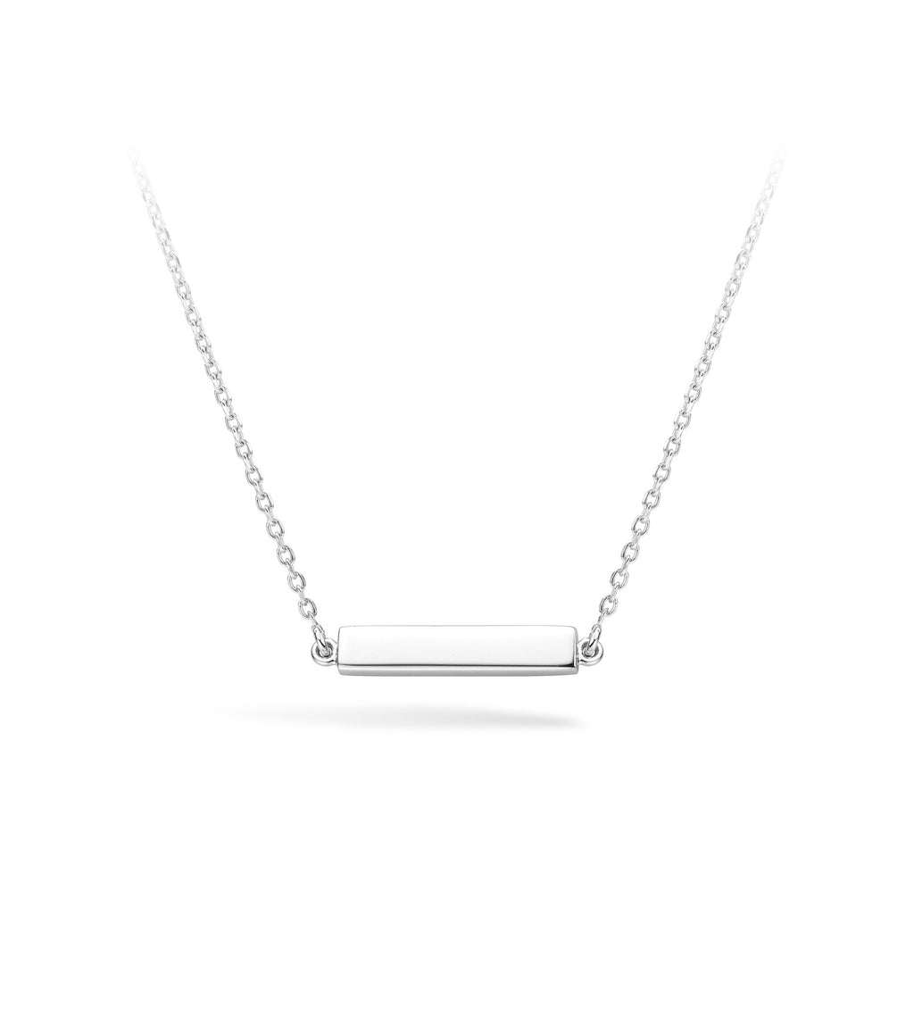 Lilywho Bar Silver Necklace LW-N012-S