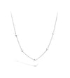 Lilywho Mini Circle Silver Necklace LW-N023-S