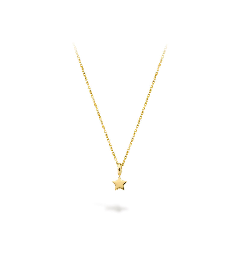 Lilywho 9ct Gold Mini Star Necklace LW-N050-GOLD