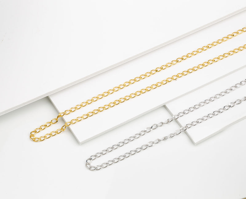Lilywho Link Yellow Gold Necklace LW-N033-Y