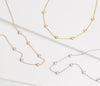 Lilywho Mini Dot Silver Necklace LW-N034-S