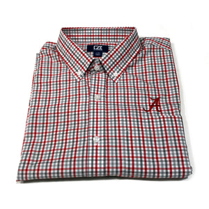 Cutter & Buck Alabama - Red & Grey Plaid