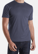 Aqua Cotton Basic Crew Tee