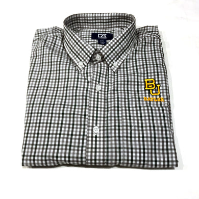 Cutter & Buck Baylor - Green & Grey Plaid