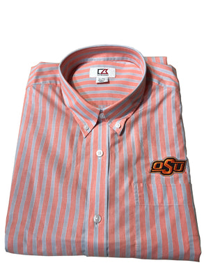 Cutter & Buck OSU - Wide Orange Stripe