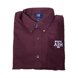 Cutter & Buck Texas A&M - Solid Maroon