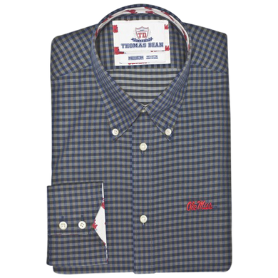 TDC Ole Miss Rebels - Blue Gingham