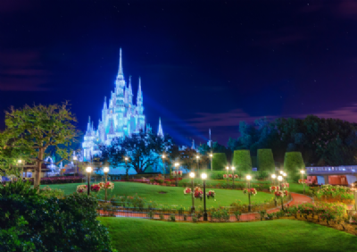 Cinderella Castle at Night 1