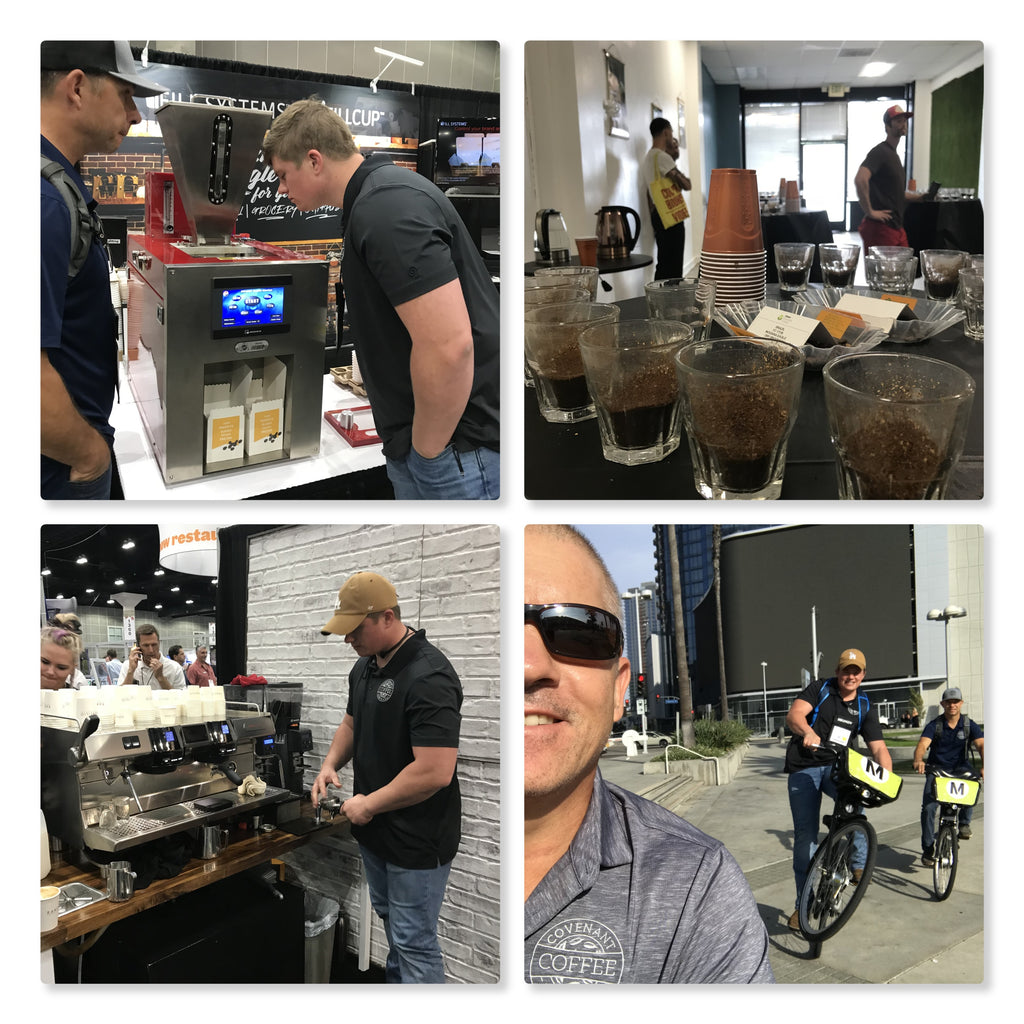 Covenant Coffee Invades DTLA for Coffee Fest 2018