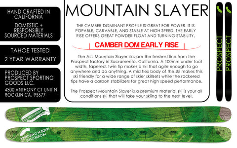 Prospect Skis - MOUNTIAN SLAYER