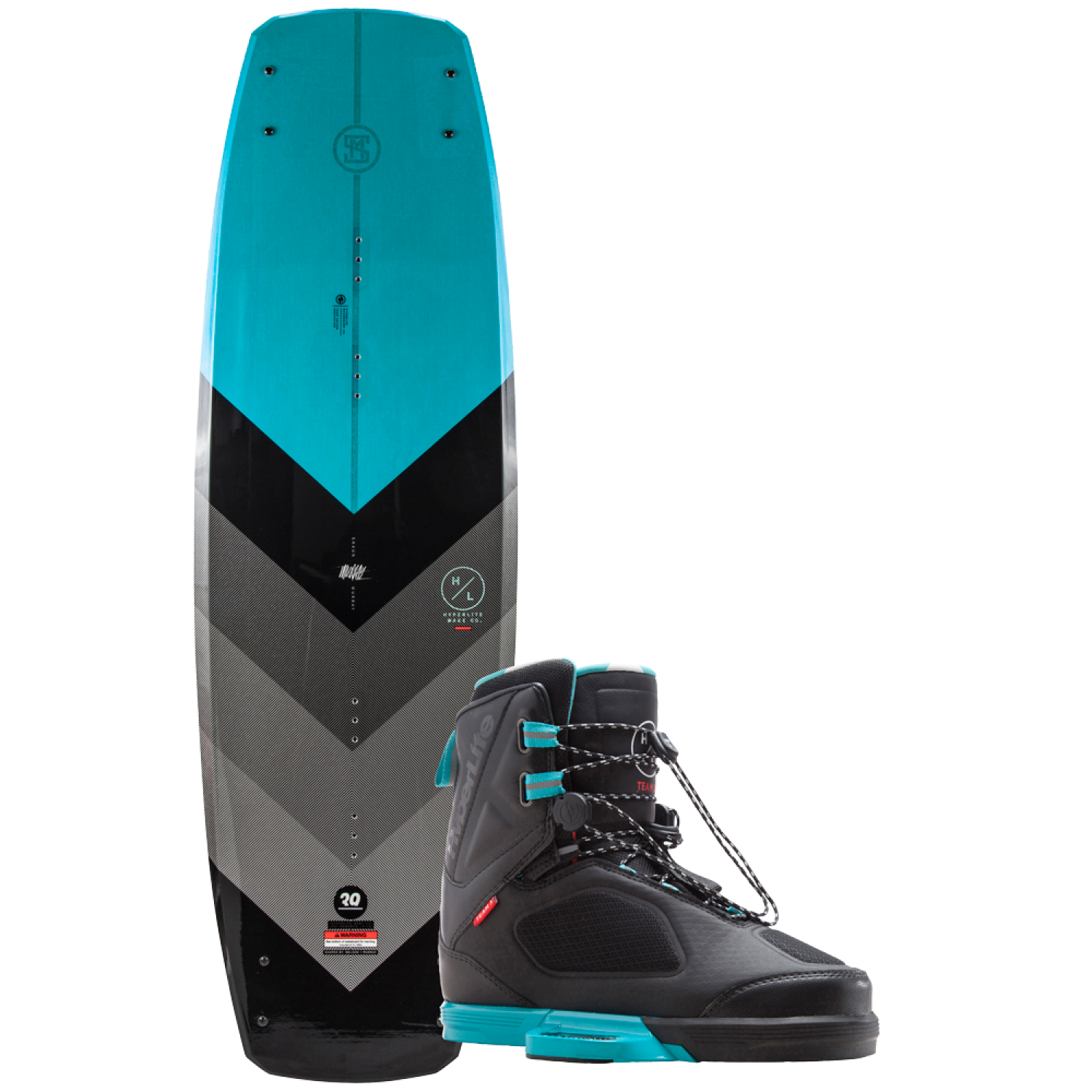 2018 Hyperlite MURRAY w/ TEAM X Bindings - Guys pkg
