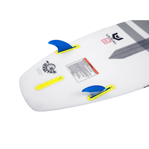 "3.5"" FLUX SURF FIN SET W/ KEY"