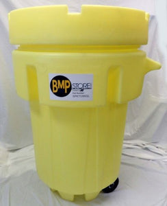 Spill Kit - Oil Only - 95 Gallon Screw Top OverPack w/ Wheel