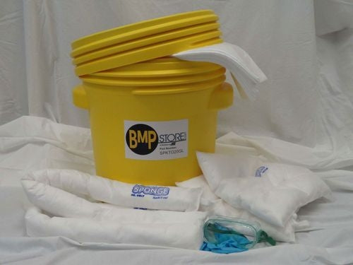 Spill Kit - Oil Only - 20 Gallon Screw Top Labpack
