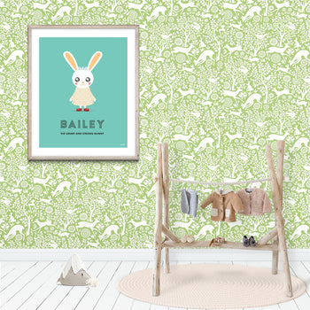 Woodland animal nursery