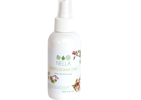 New! Nella Afterglow Shave Tonic