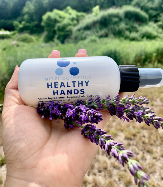 New! Healthy Hands Sanitizer