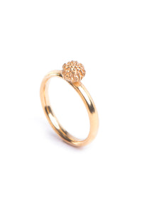 Protea Pincushion ring- Gold Plated