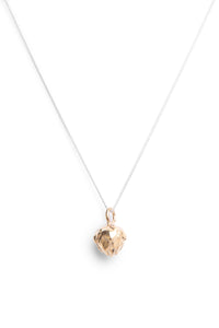 King Protea Pod Necklace- Yellow Gold Plated