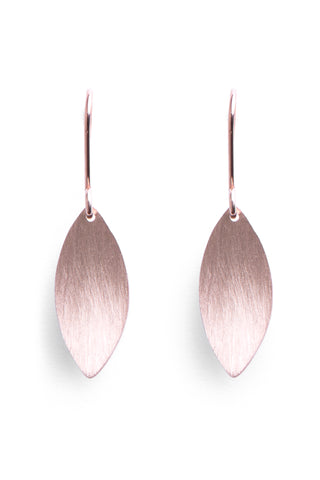 Protea Leaf Earring- Rose Gold Plated