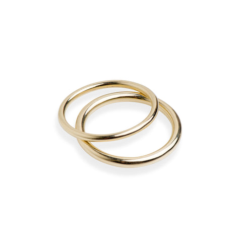 Simple Yellow Gold Ring