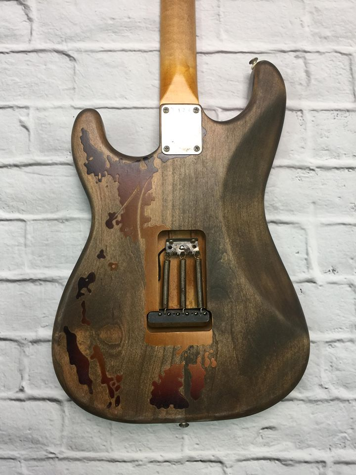 Fraser Guitars Artist Series : Rory Gallagher : Retro Vintage Custom Aged S-Style Tribute Guitar