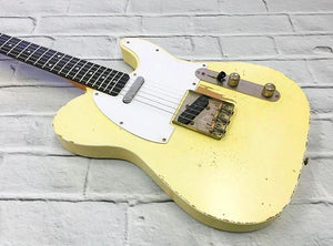 Fraser Guitars : VTS Blonde Light Relic 60s : Retro Vintage Aged Custom T-Style Guitar