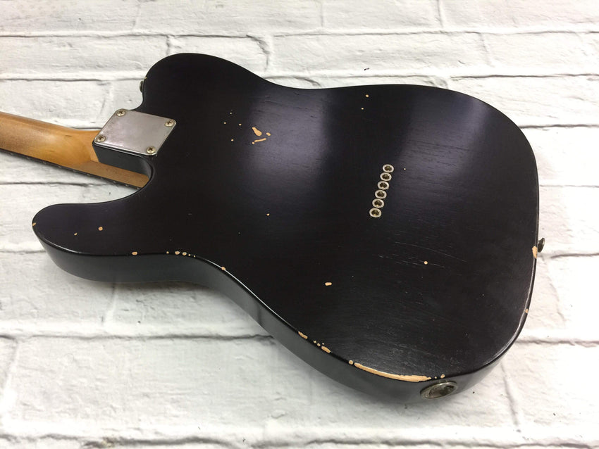 Fraser Guitars : CTS Black Light Relic 60s : Retro Vintage Custom Aged T-Style Guitar