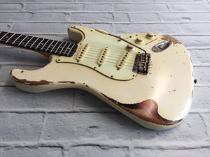 CSS Olympic White over Sunburst Medium Relic 60s