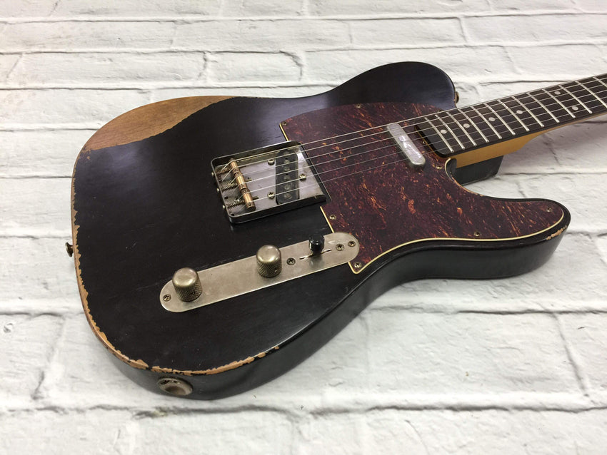 Fraser Guitars : VTS Black Light Relic 60s : Retro Vintage Aged Custom T-Style Guitar
