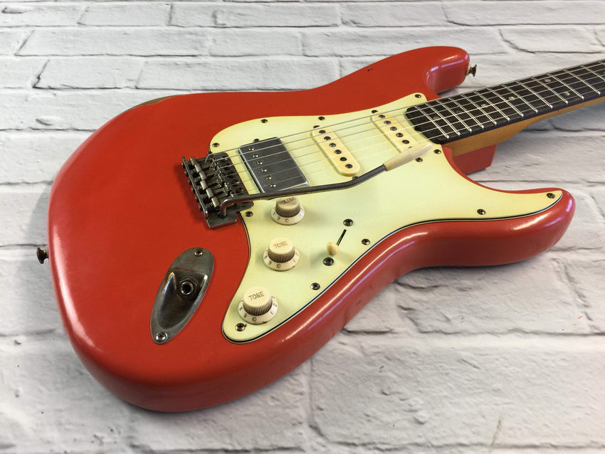 CSS Fiesta Red HSS Light Relic 60s