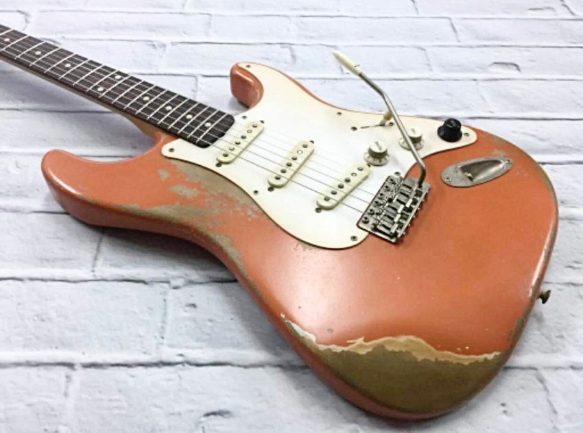 Fraser Guitars : VSS Coral Medium Relic 60s : Retro Vintage Custom Aged S-Style Guitar