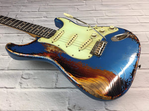 CSS Lake Placid Blue over Sunburst Medium Relic Ash 60s