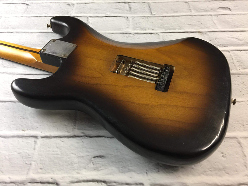 CSS Tobacco Burst HSS Light Relic Ash 54