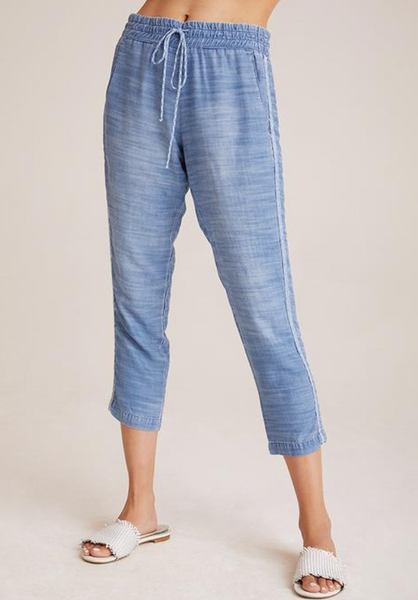 Double Stripe Pant in Oceanside